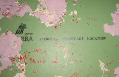 City of Yarra – Approved Street Art Location